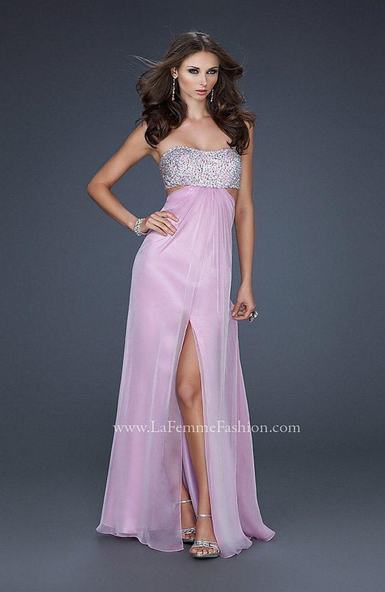 Spoločenské šaty La Femme 16291 výpredaj