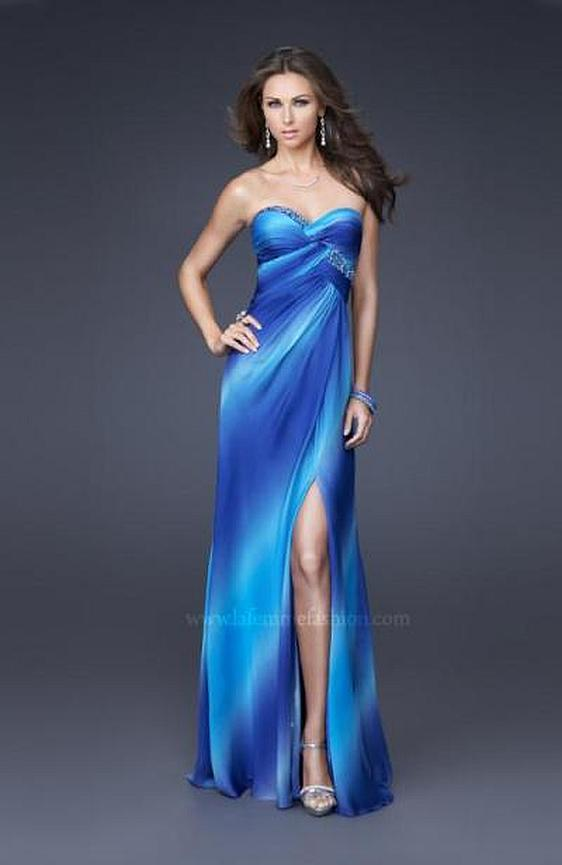 Spoločenské šaty La Femme 16408 výpredaj