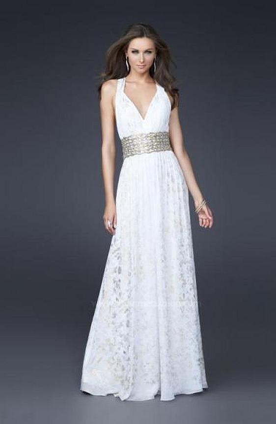 Spoločenské šaty La Femme 16494 - výpredaj