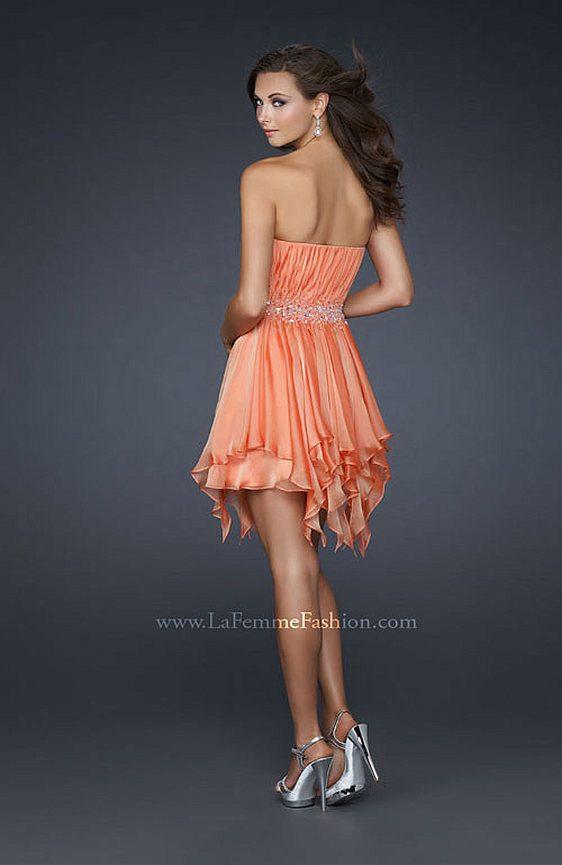 Spoločenské šaty La Femme 17544