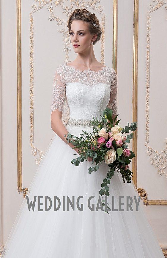 Svadobné šaty s čipkovými rukávmi - Wedding Gallery