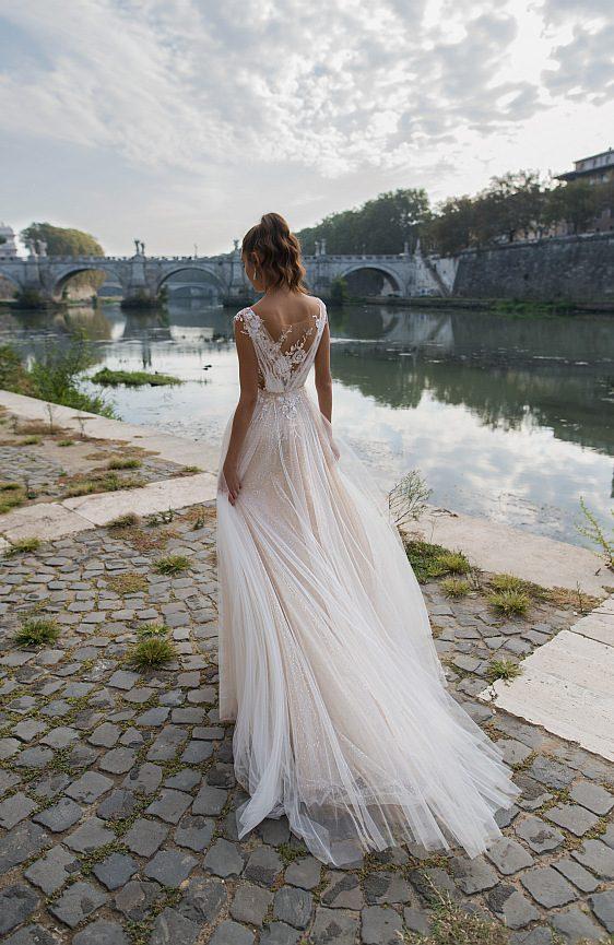 Čipkované svadobné šaty jedinečné šaty pre výnimočný deň