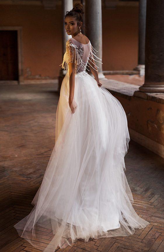 Svadobné šaty bohémske s čipkou