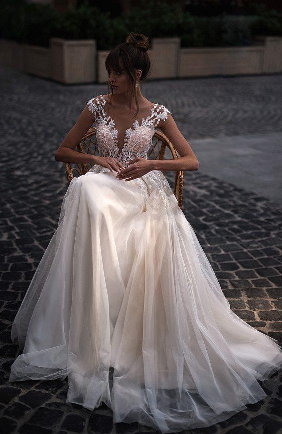 Čipkované svadobné šaty - Wedding Gallery Bratislava