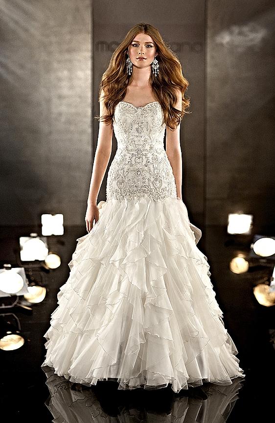 Sexi svadobné šaty Martina Liana 332 - výpredaj - Wedding Gallery svadobný salón Bratislava