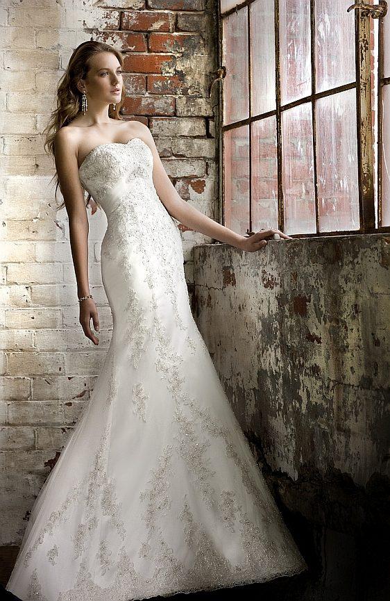 Svadobné šaty čipkované veľkosť 34 výpredaj