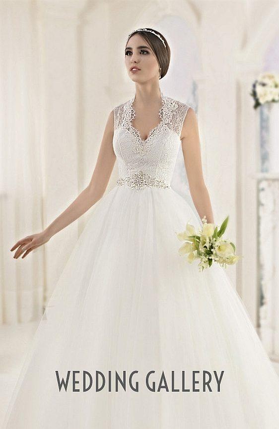 Čipkované svadobné šaty - výpredaj - Wedding Gallery svadobný salón Bratislava